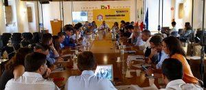Gostoli all'incontro dei segretari regionali del Partito  Democratico